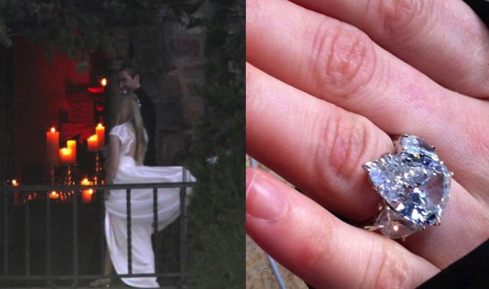 avril 35+ Fascinating & Stunning Celebrities Engagement Rings for 2020