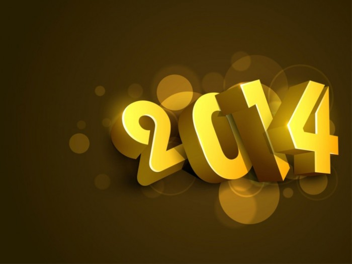 awesome-happy-new-year-greeting-cards-2014-with-gold-theme-ideas-940x704 45+ Latest & Most Gorgeous Greeting Cards for a Happy New Year