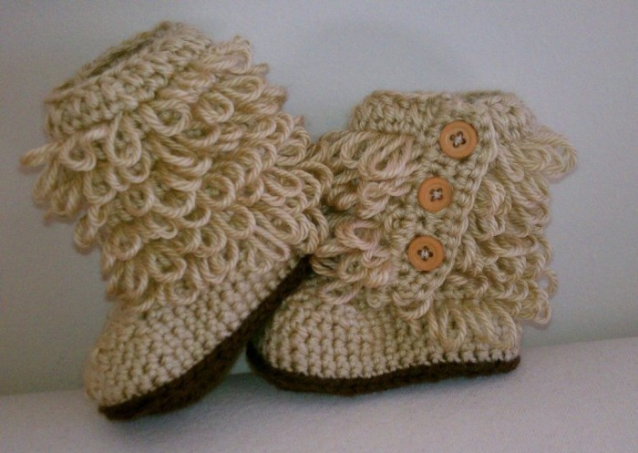 botitas-estilo-ugg-pra-bebe-crochet-tejidas-a-mano_MLM-F-3714542723_012013 10 Fascinating Ideas to Create Crochet Patterns on Your Own