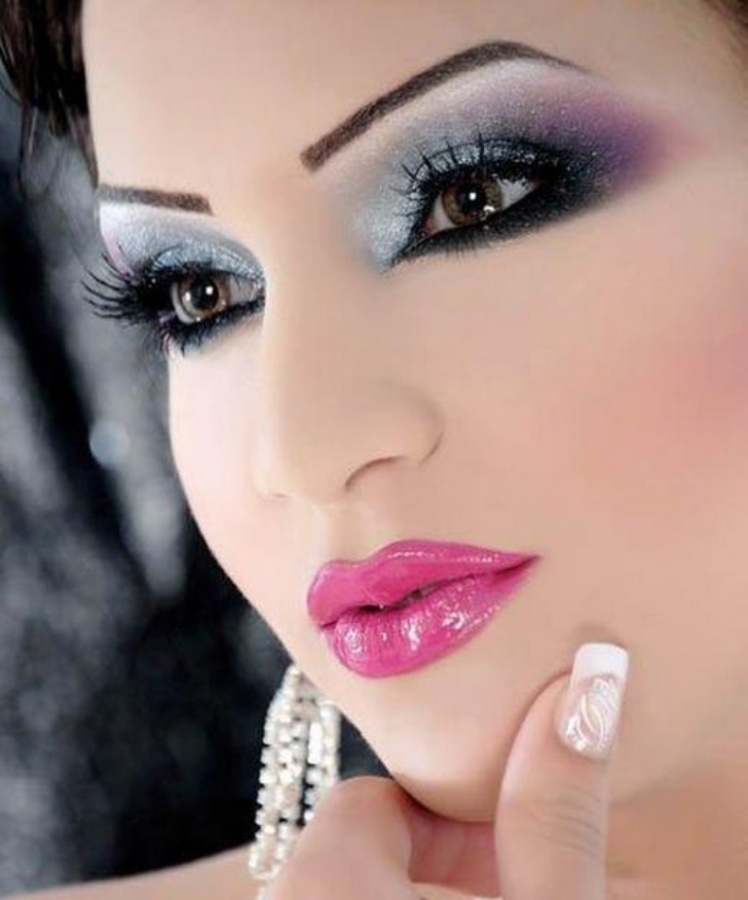 bridal-make-up-17 Differences between Engagement & Wedding Make-up, What Are They?