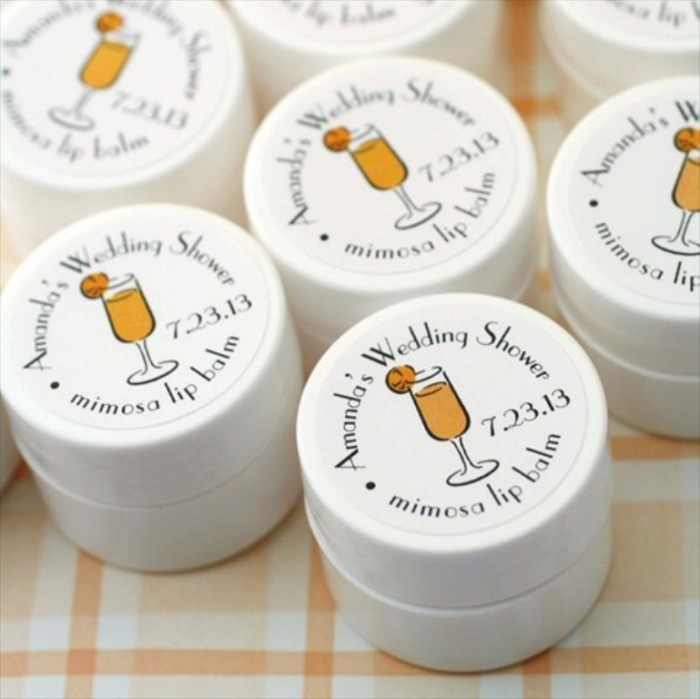 bridal-shower-lip-balm-favor Save Money & Learn How to Make Your Own Wedding Favors