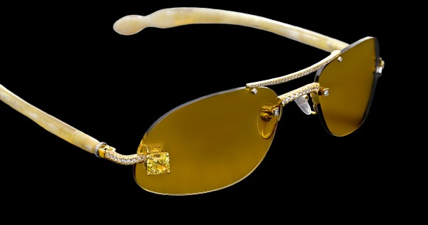 canary2c 39 Most Stylish Gold and Diamond Sunglasses in 2019