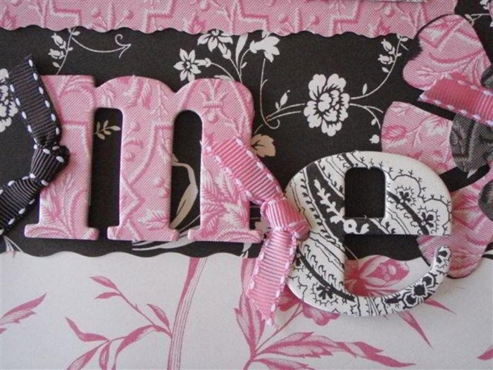 chipboard-letters-on-scrapbook-page Best 65 Scrapbooking Ideas to Start Creating Yours