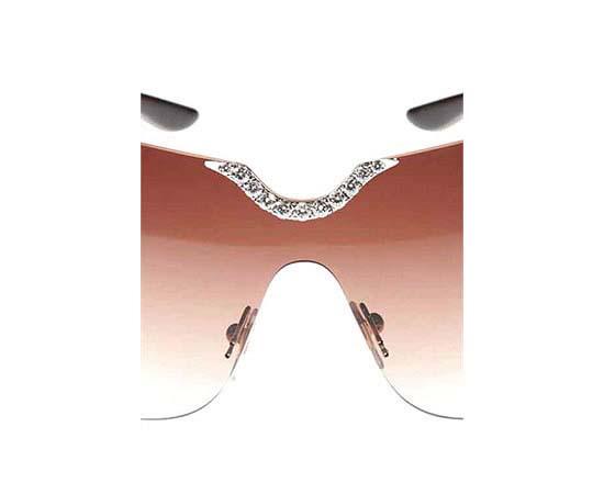 chopard-jewel-sunglasses-2 39 Most Stylish Gold and Diamond Sunglasses in 2021