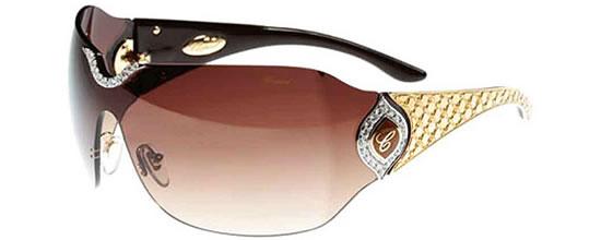 chopard-jewel-sunglasses-3 39 Most Stylish Gold and Diamond Sunglasses in 2018