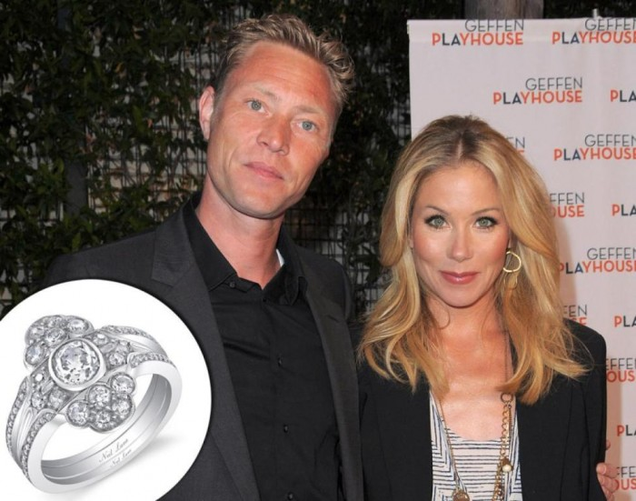 christina-applegate 35+ Fascinating & Stunning Celebrities Engagement Rings for 2019