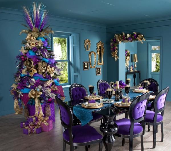 christmas-tree-decorations-uk1 79 Amazing Christmas Tree Decorations