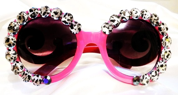 clearance-hot-pink-prada-baroque-sunglasses-wwhite-leopard-print-crystals-f32376 39 Most Stylish Gold and Diamond Sunglasses in 2021