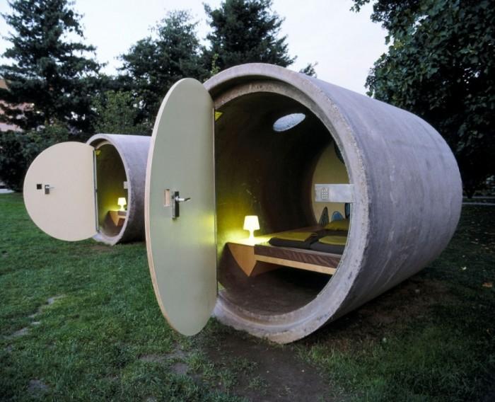 concretetubehotel Top 30 World's Weirdest Hotels ... Never Seen Before!