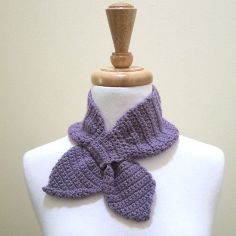 crochet-ascot-scarf 10 Fascinating Ideas to Create Crochet Patterns on Your Own