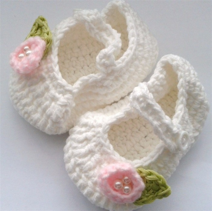 crochet-baby-shoes 10 Fascinating Ideas to Create Crochet Patterns on Your Own