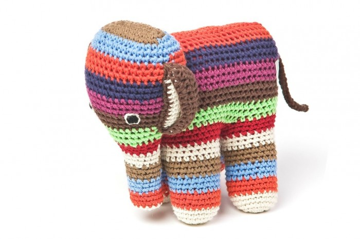 crochet-elephant 10 Fascinating Ideas to Create Crochet Patterns on Your Own