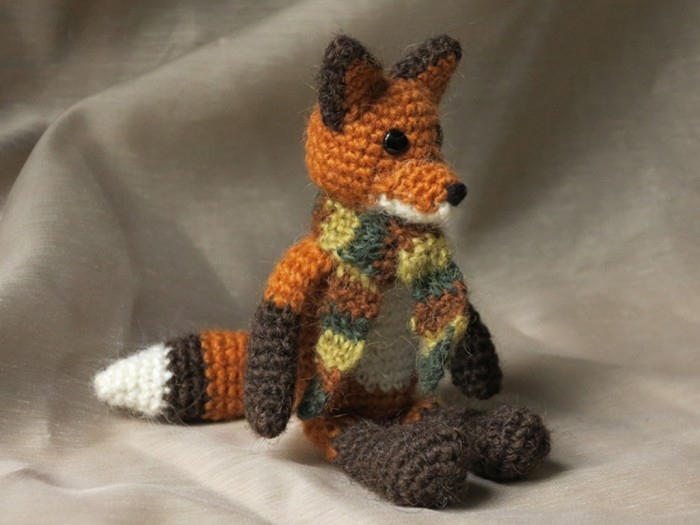 crochet-fox2 10 Fascinating Ideas to Create Crochet Patterns on Your Own