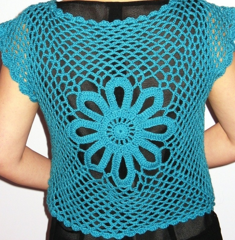 crochet-pattern-lovely-aqua-butterfly-shrug-dfe77 10 Fascinating Ideas to Create Crochet Patterns on Your Own