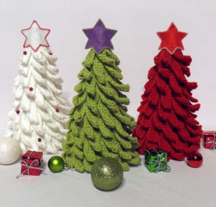 crochet-trees Stunning Crochet Patterns To Decorate Your Home & Make Accessories