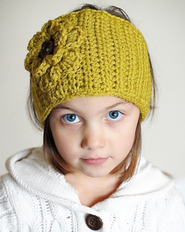 crocheted-ear-warmer-pattern Stunning Crochet Patterns To Decorate Your Home & Make Accessories