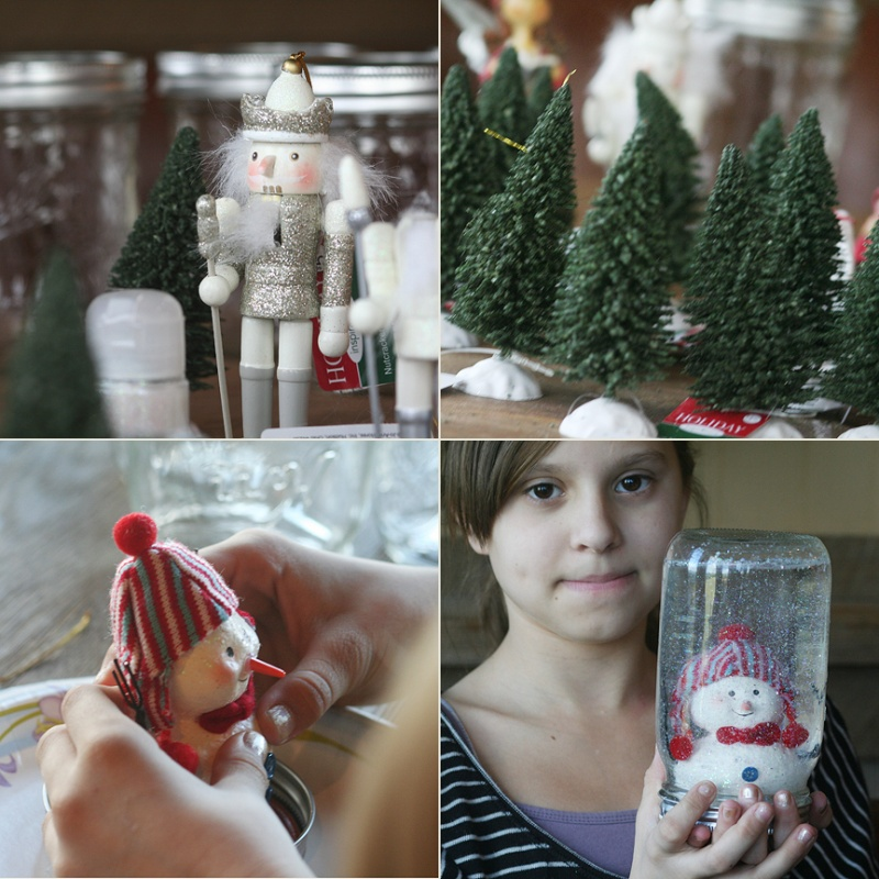 decorations-accessories-beautiful-snowman-and-christmas-pines-in-mason-jar-snow-globe-christmass-accessories-wonderful-mason-jar-snow-globes-for-diy-christmas-ornament-ideas 79 Amazing Christmas Tree Decorations