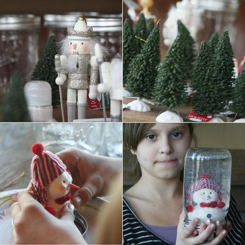 decorations-accessories-beautiful-snowman-and-christmas-pines-in-mason-jar-snow-globe-christmass-accessories-wonderful-mason-jar-snow-globes-for-diy-christmas-ornament-ideas 79 Amazing Christmas Tree Decorations