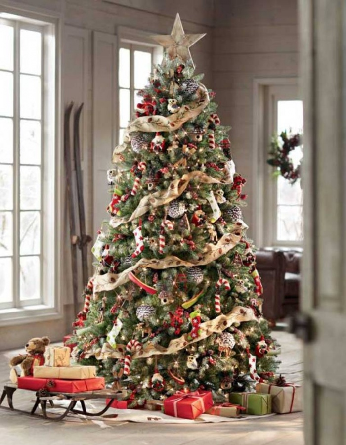 diy-christmas-tree-decoration-ideas_ 65+ Dazzling Christmas Decorating Ideas for Your Home in 2019