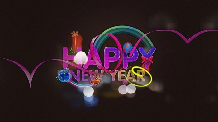 excellent-new-year-greeting-cards-design-ideas-with-purple-themes-940x528 45+ Latest & Most Gorgeous Greeting Cards for a Happy New Year
