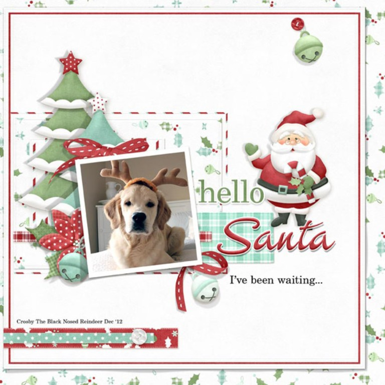 festivetrimmings_layout Best 65 Scrapbooking Ideas to Start Creating Yours