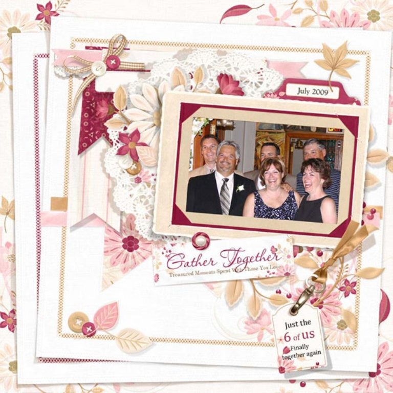 finelinen_layout Best 65 Scrapbooking Ideas to Start Creating Yours