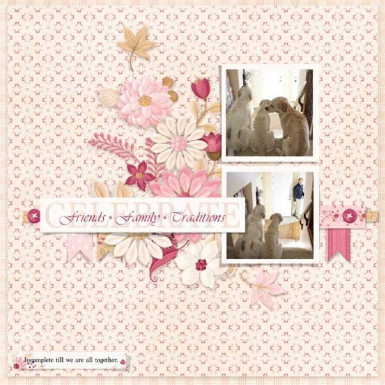 finelinen_layout2 Best 65 Scrapbooking Ideas to Start Creating Yours