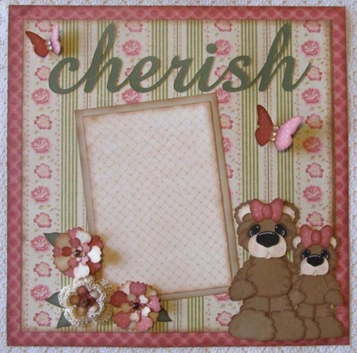 full_7647_76775_PremadeScrapbookPagesGirlShabbyChic_1 Best 65 Scrapbooking Ideas to Start Creating Yours