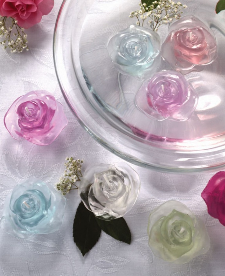 gel-rose-floating-candle Do You Want to Make Candles on Your Own?