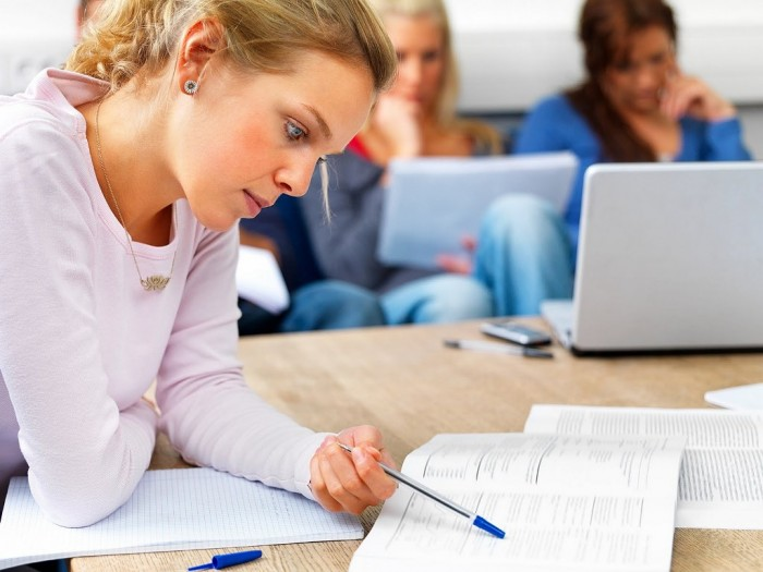girl-studying 15 Study Tips for Better Test Taking & Getting Higher Grades