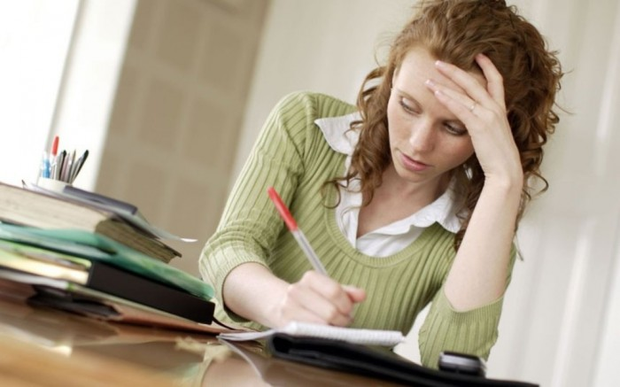 girlwriting_alamy_2350524k What Should You Do to Write a Perfect Personal Statement?