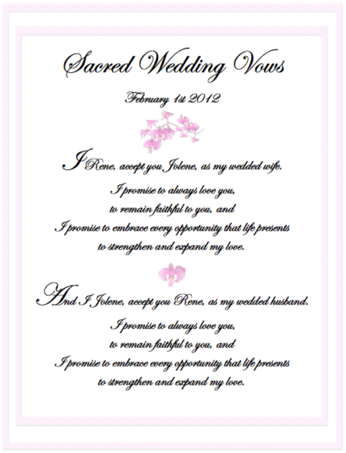 need help writing wedding vows 10 marriage vows you couldn't  to revise the vows that we made at our wedding as i sat writing my vows on the  bring or what tools we will need.