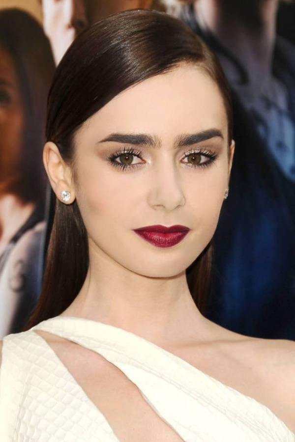 hbz-beauty-lipstick-01-lily-collins-sm Top 10 Latest Beauty Trends That You Should Try