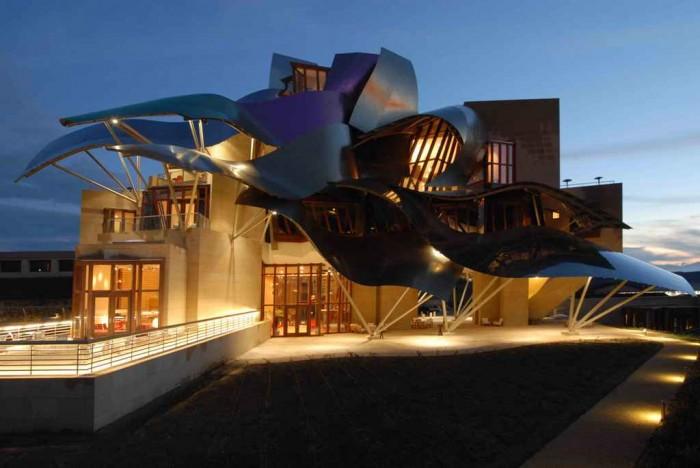 hotel-marques-de-riscal-01 Top 30 World's Weirdest Hotels ... Never Seen Before!