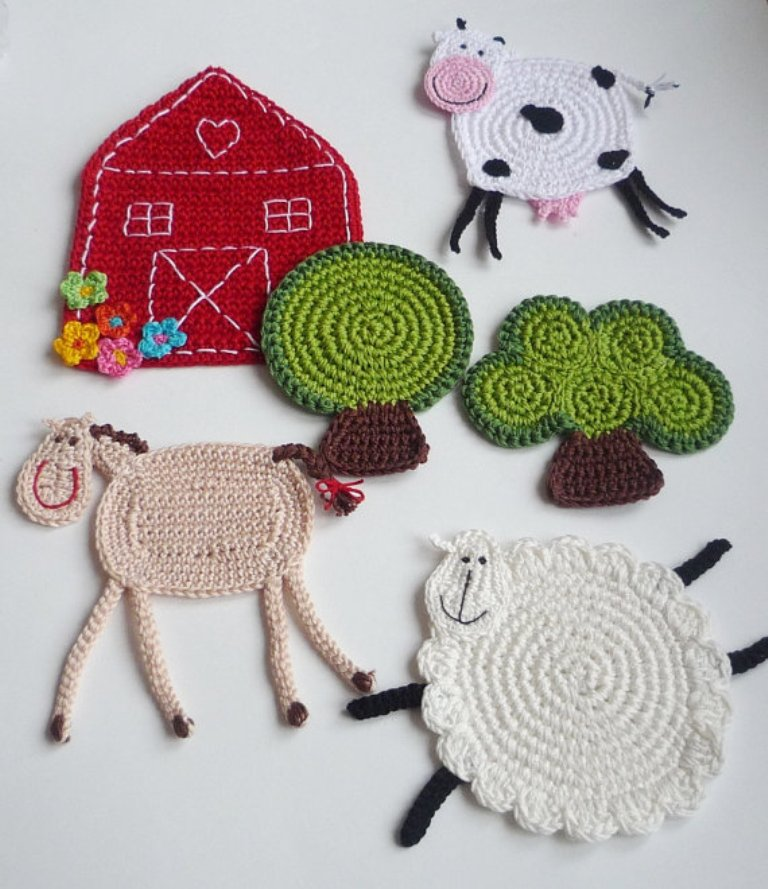 il_570xN.446314565_sxjf Stunning Crochet Patterns To Decorate Your Home & Make Accessories