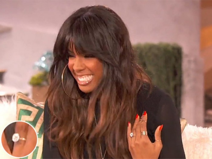 kelly-rowland-engagement-ring 35+ Fascinating & Stunning Celebrities Engagement Rings for 2019