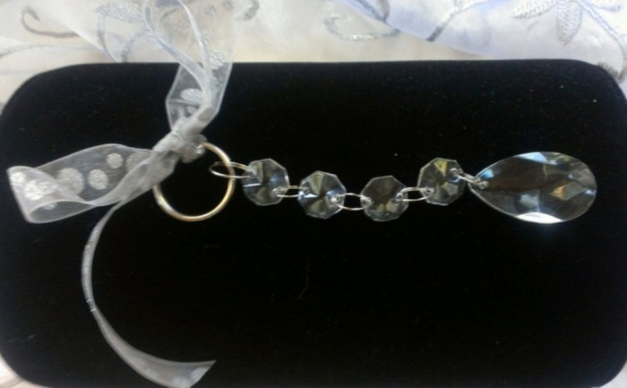 key-chain-crystal-acrylic-party-favor-assorted-75-crystal-acrylic-key-chain-wedding-favor-523673 Save Money & Learn How to Make Your Own Wedding Favors