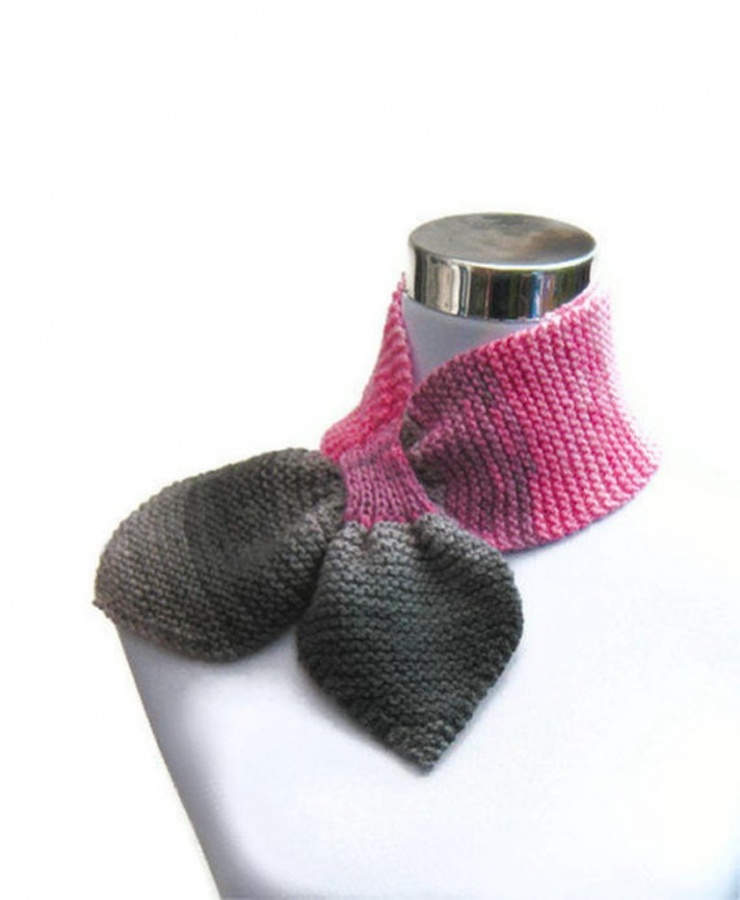 knit-ascot-scarf 10 Fascinating Ideas to Create Crochet Patterns on Your Own