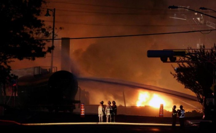 lac-megantic_train_wreck What Are the Most Serious & Catastrophic Train Accidents in 2013?