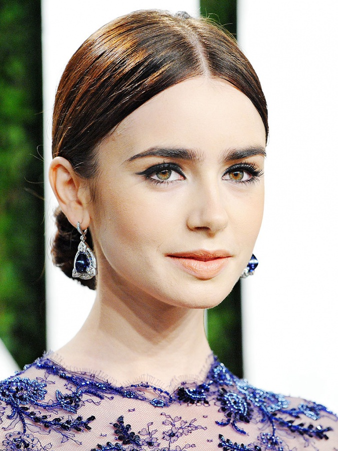 lily-collins-768 Top 10 Latest Beauty Trends That You Should Try