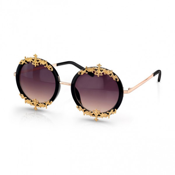 maggi_060613_shades 39 Most Stylish Gold and Diamond Sunglasses in 2019