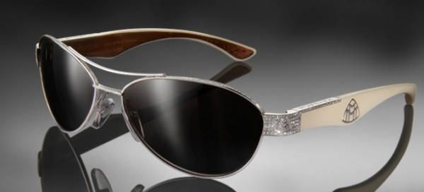 maybach-star1 39 Most Stylish Gold and Diamond Sunglasses in 2021