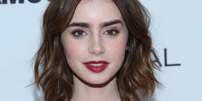 Thick eyebrows One of the hottest and latest beauty trends for the new year is the thick or bushy eyebrows and it is thought that the thicker and bigger the eyebrows are, the better they will be. There are some stars who appeared with the new bushy eyebrows such as Camilla Belle and Lily Collins.