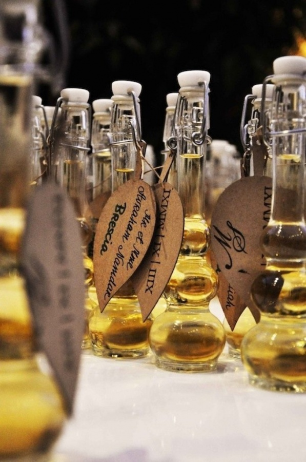 olive-oil-wedding-10 Save Money & Learn How to Make Your Own Wedding Favors