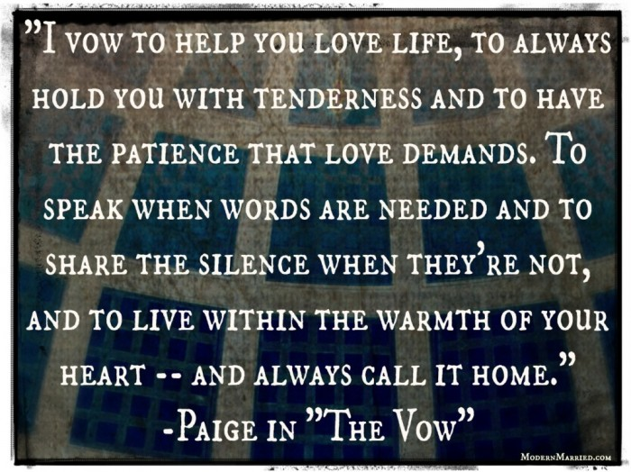 paiges-vows Write Your Wedding Vows on Your Own to Be More Personal & Romantic