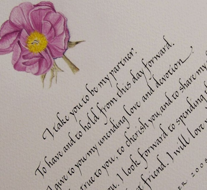 peony-section Write Your Wedding Vows on Your Own to Be More Personal & Romantic