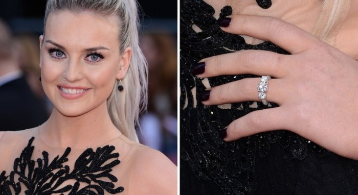 perrie-edwards-engagement-ring-zayn 35+ Fascinating & Stunning Celebrities Engagement Rings for 2019