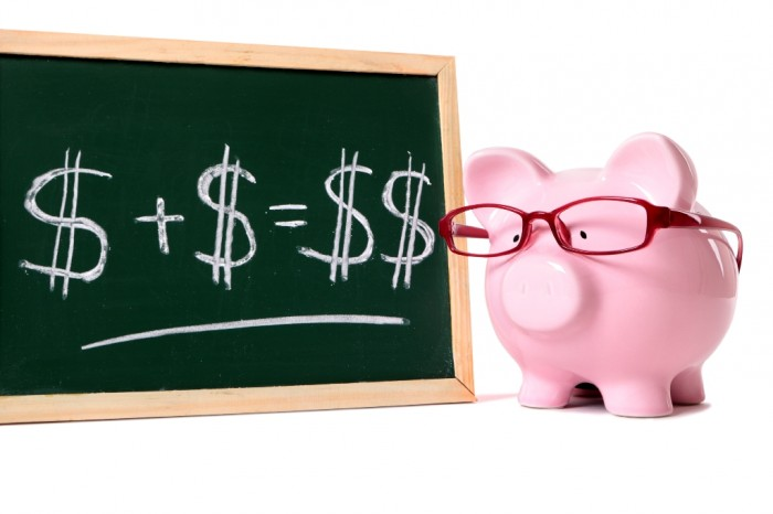 pig_blackboard Family Budgeting for Setting Your Financial Priorities & Saving money