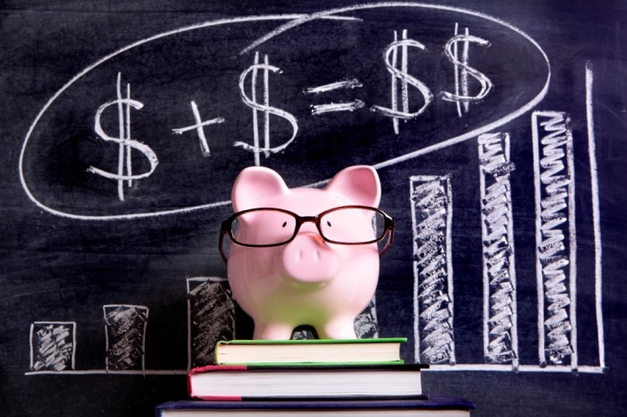 pig_blackboard2 Family Budgeting for Setting Your Financial Priorities & Saving money
