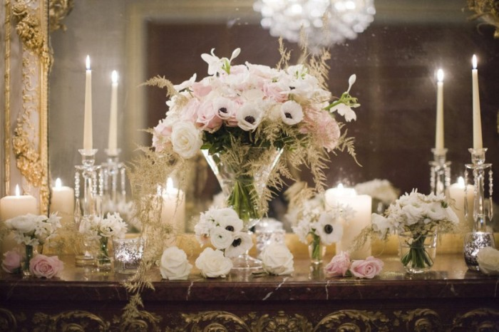 romantic-wedding-reception-welcome-table-with-candles-anemones-and-roses.full_ Do You Want to Make Candles on Your Own?